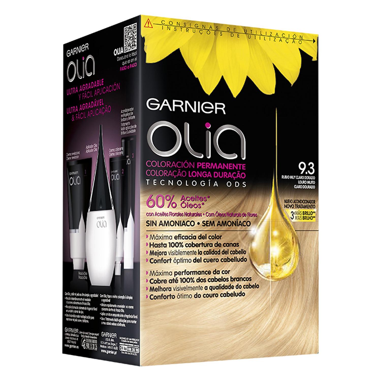 Tinte 9.3 Rubio muy Claro Dorado Garnier Olia 1 ud. Garnier-Olia ... 3e5810e53fe0