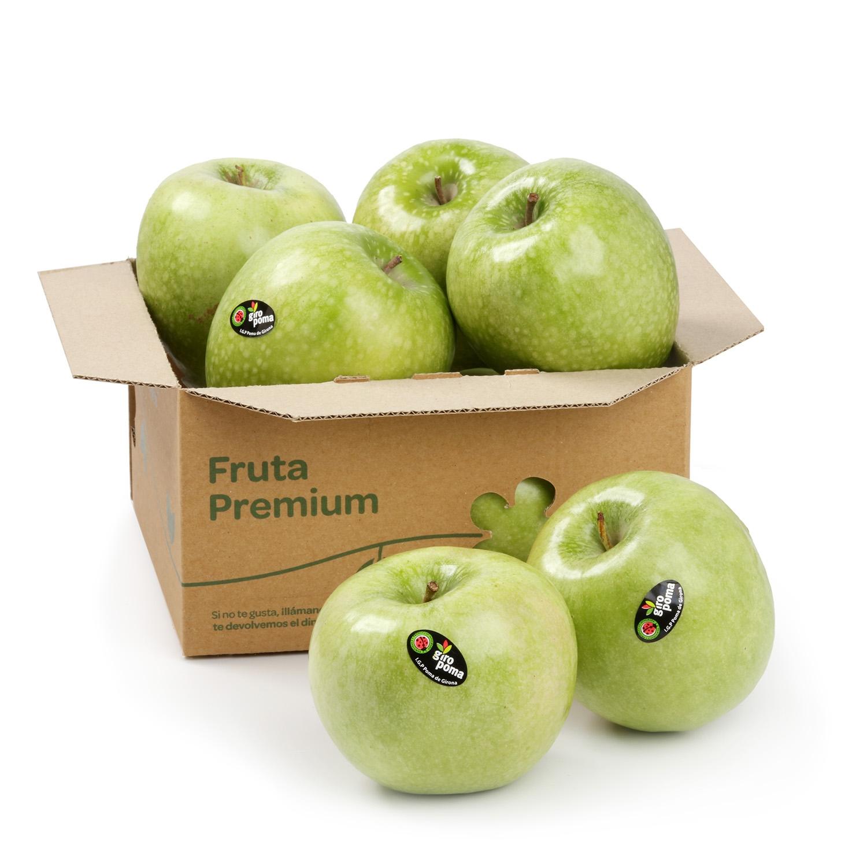 Manzana verde granny premium Carrefour 1 Kg aprox