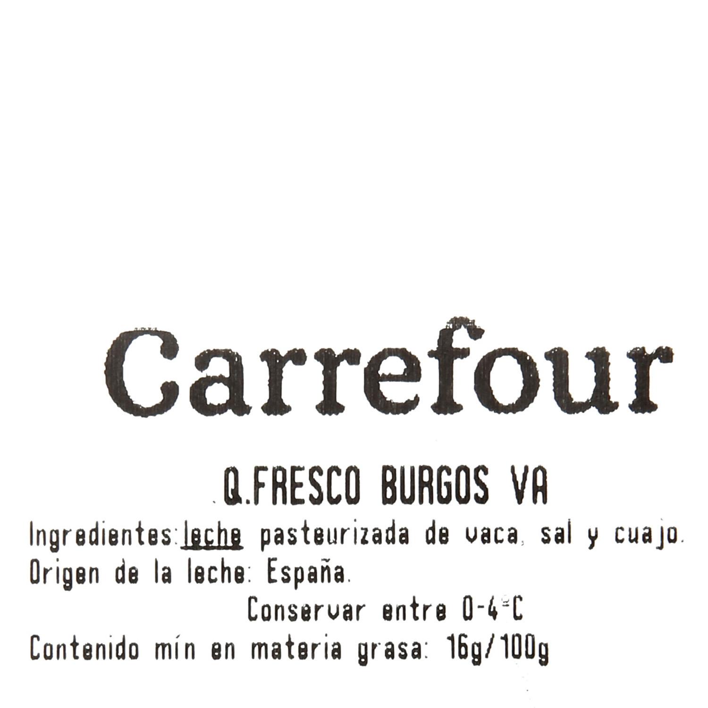 Queso fresco de Burgos Mama Vaca al corte 200 g aprox - 3