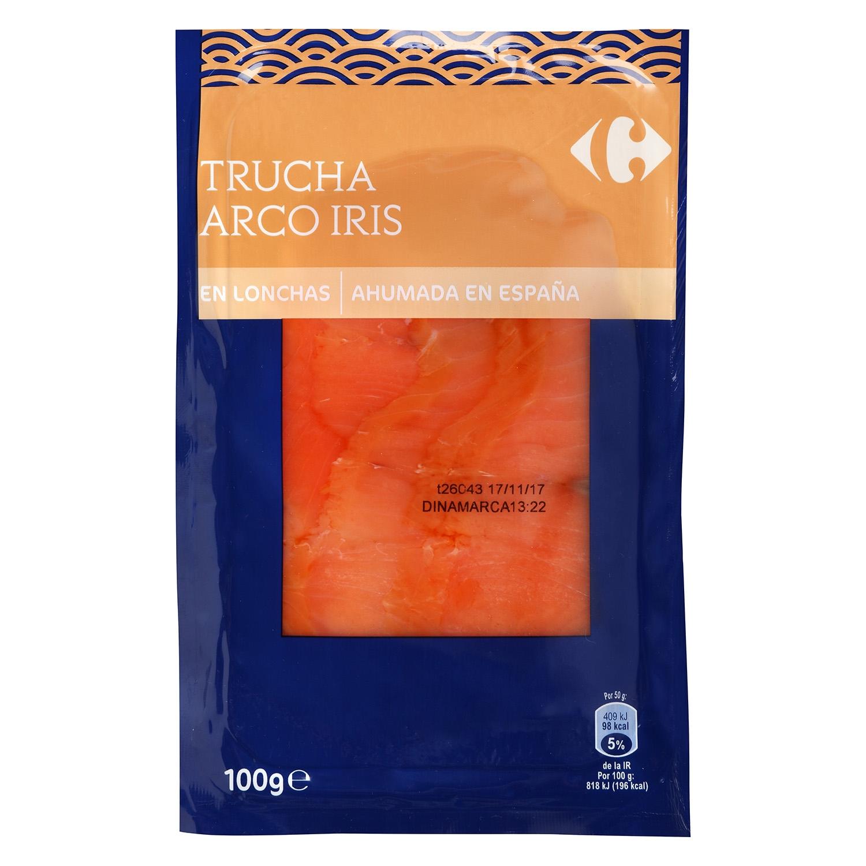 Trucha ahumada