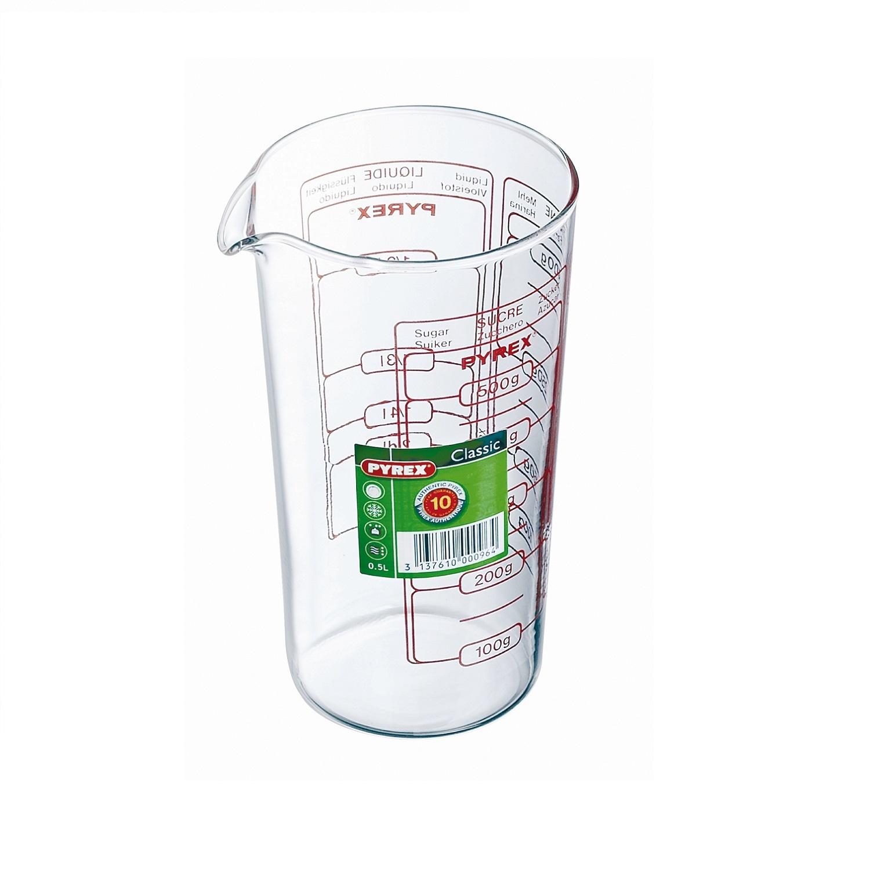 Jarra medidora Multiusos  10cm. Transparente