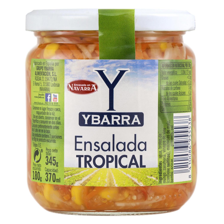 Ensalada tropical Ybarra 180 g.