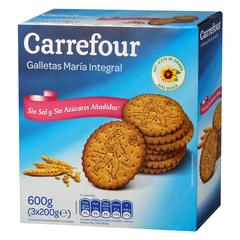 Galletas María sin sal y sin azúcar Carrefour - Carrefour ...