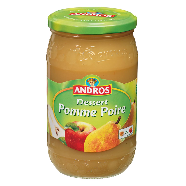 Compota de manzana-pera