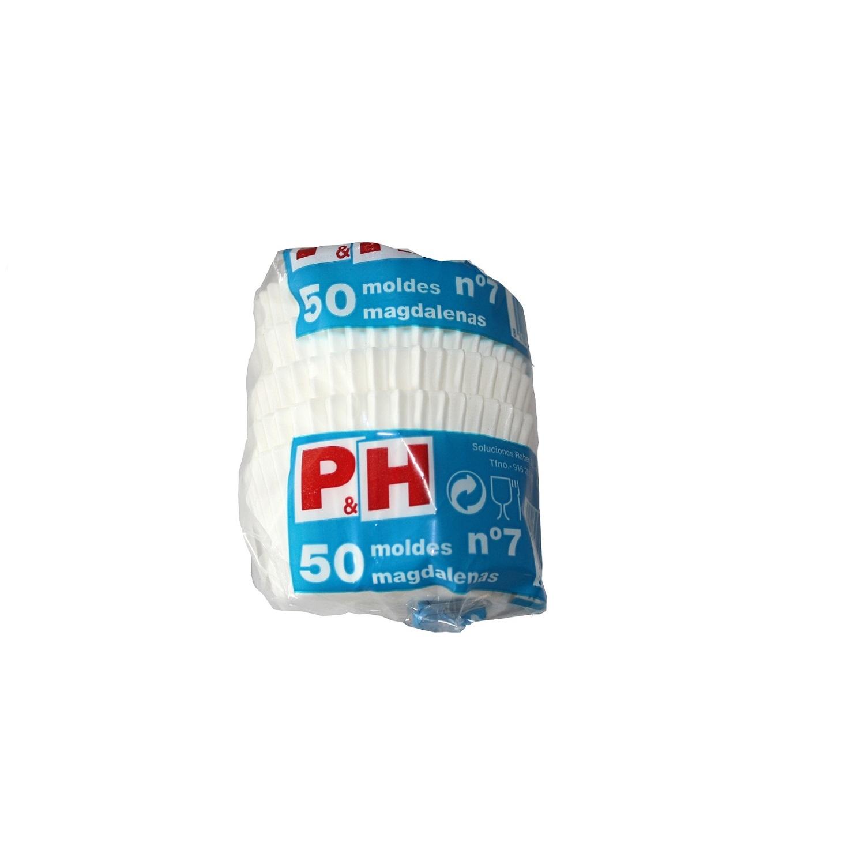 Set de 50 Cápsulas de Papel P&H cl - Blanco