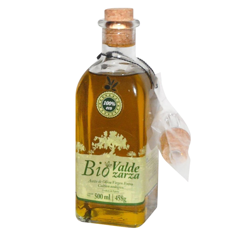 Aceite de oliva virgen extra ecológico Valdezarza 500 ml.
