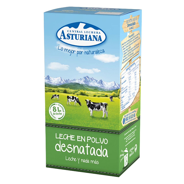 Leche en polvo desnatada Central Lechera Asturiana 800 g.
