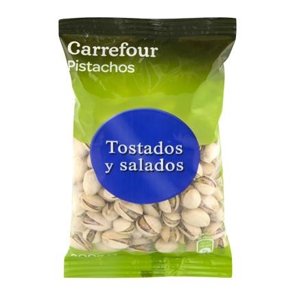 Pistachos tostados y salados Carrefour 200 g.