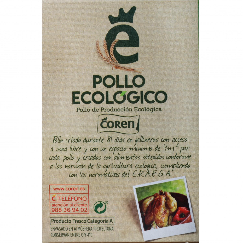 Pechuga de Pollo Fileteada Ecológica Coren 350 g aprox - 3