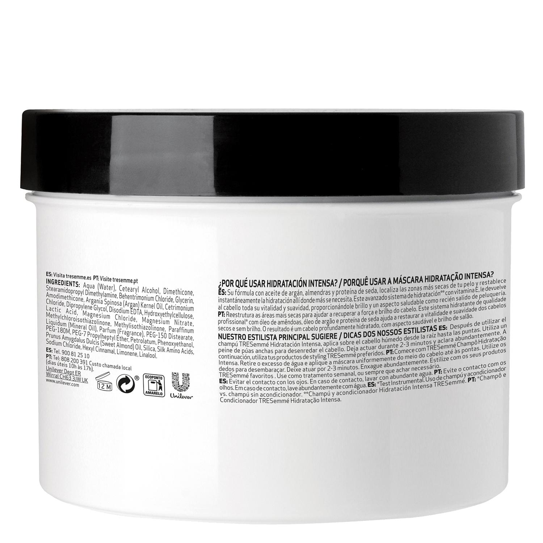 Mascarilla capilar hidratación intensa Tresemmé 500 ml. -