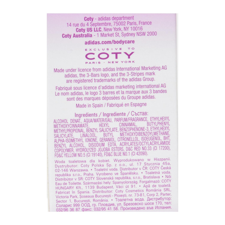Colonia woman Natural Vitality spray Adidas 50 ml. - 2