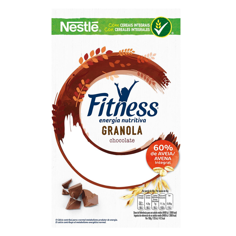 Cereales de avena integral con chocolate Fitness Nestlé 300 g. - 2