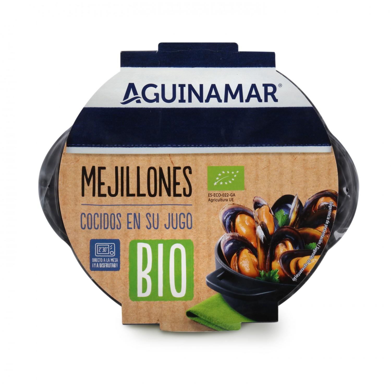 Mejillón Cocido ecológico Aguinaga 400 g