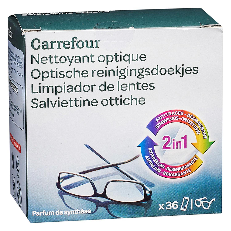 Limpiador de lentes Carrefour 36 ud.