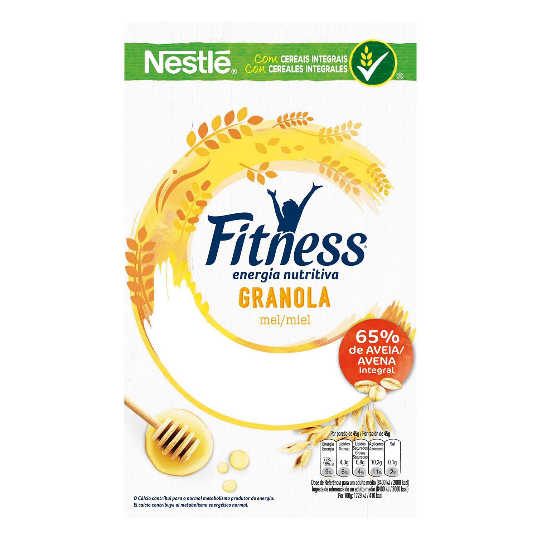 Cereales de avena integral con miel Fitness Nestlé 300 g. - 2