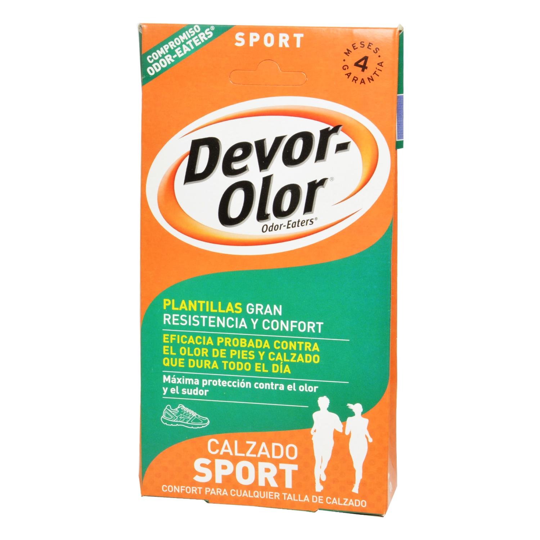 Plantillas pies gran resistencia y confort Devor-Olor - Carrefour ...