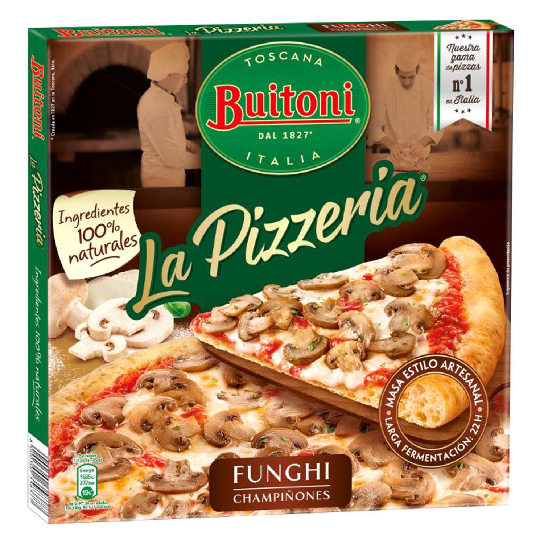 Pizza Funghi champiñones Buitoni 365 g.