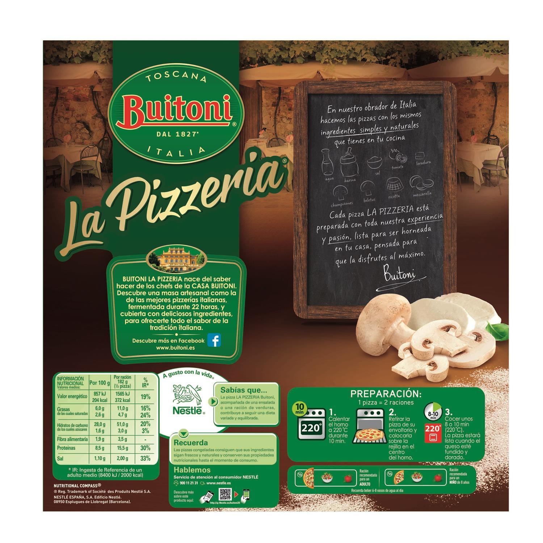 Pizza Funghi champiñones Buitoni 365 g. - 2