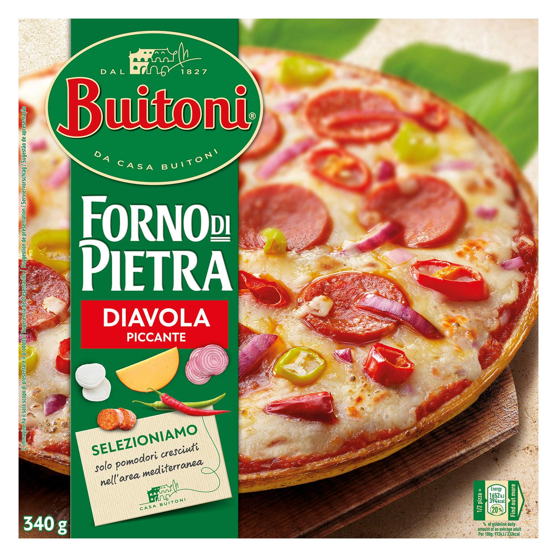 Pizza Diavola Forno di Pietra Buitoni 365 g.