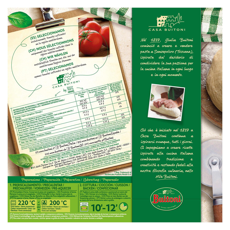 Pizza Diavola Forno di Pietra Buitoni 365 g. -