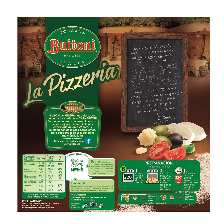 Pizza aceitunas y tomate cherry La Pizzeria - 2