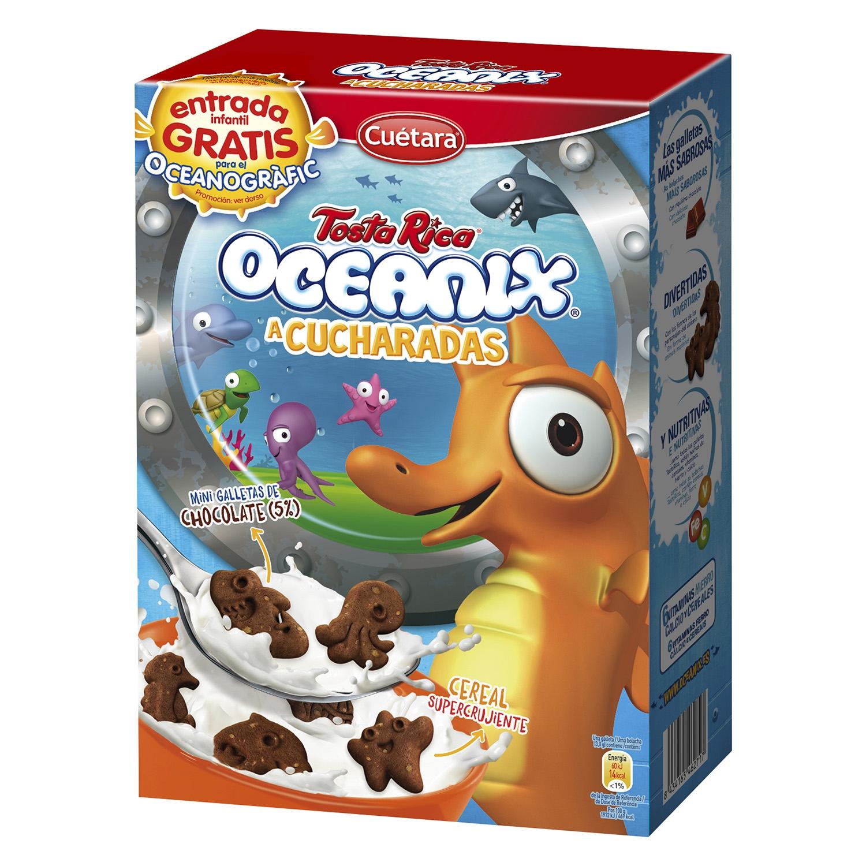 Galletas Oceanix Tosta Rica Cuétara 350 g. - 2