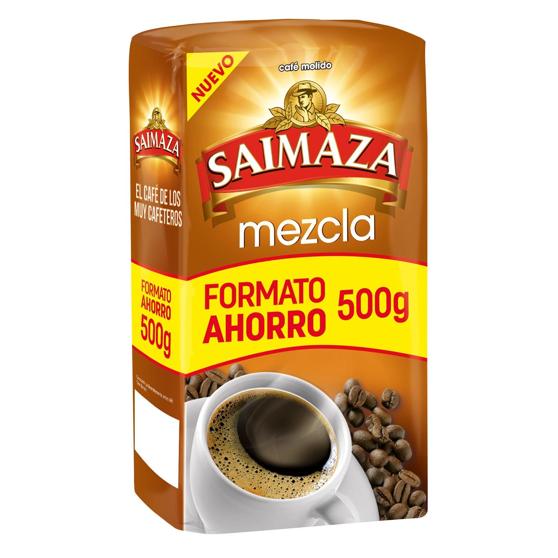 Café molido mezcla Saimaza 500 g.