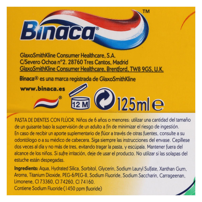Dentífrico Aliento Fresco Binaca 75 ml. - 2
