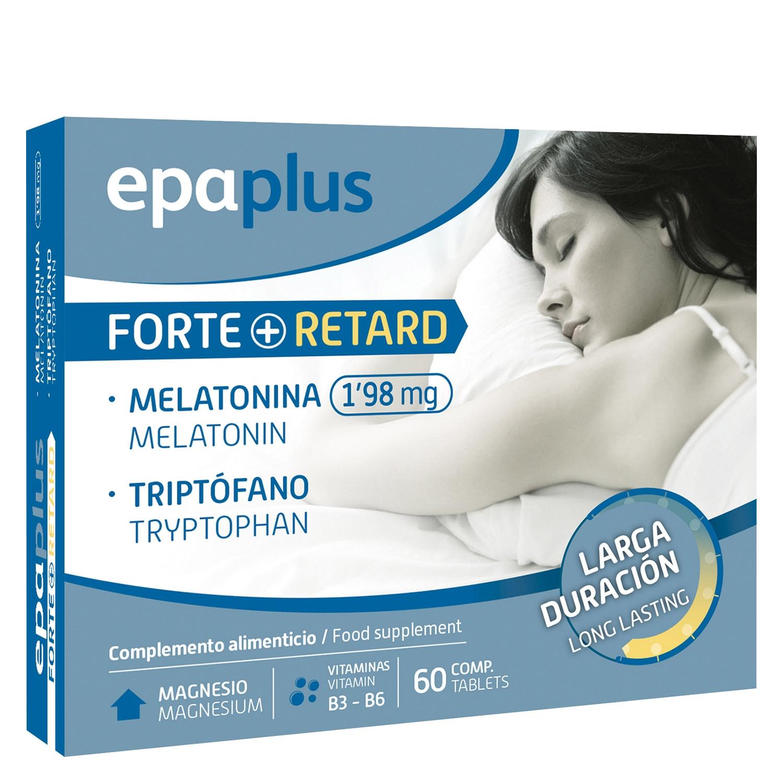 Complemento alimenticio melatonina y triptófano comprimidos