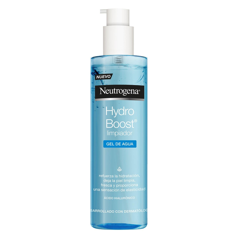 Gel de agua limpiador Hydro Boost Neutrogena 200 ml.