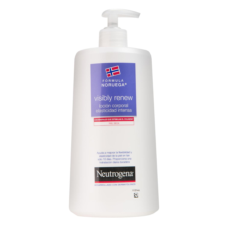 Loción corporal elasticidad intensa Piel Seca Visibly Renew Neutrogena 750 ml.