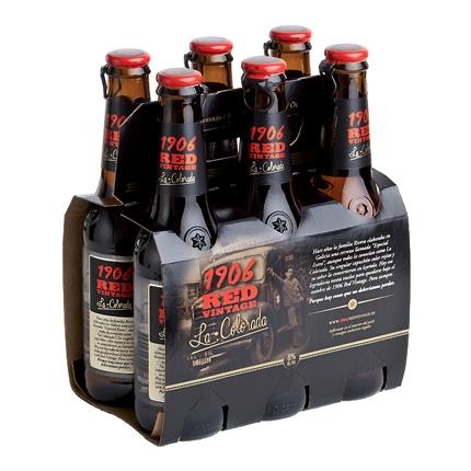 Cerveza 1906 Red Vintage La Colorada pack de 6 botellas de 33 cl.