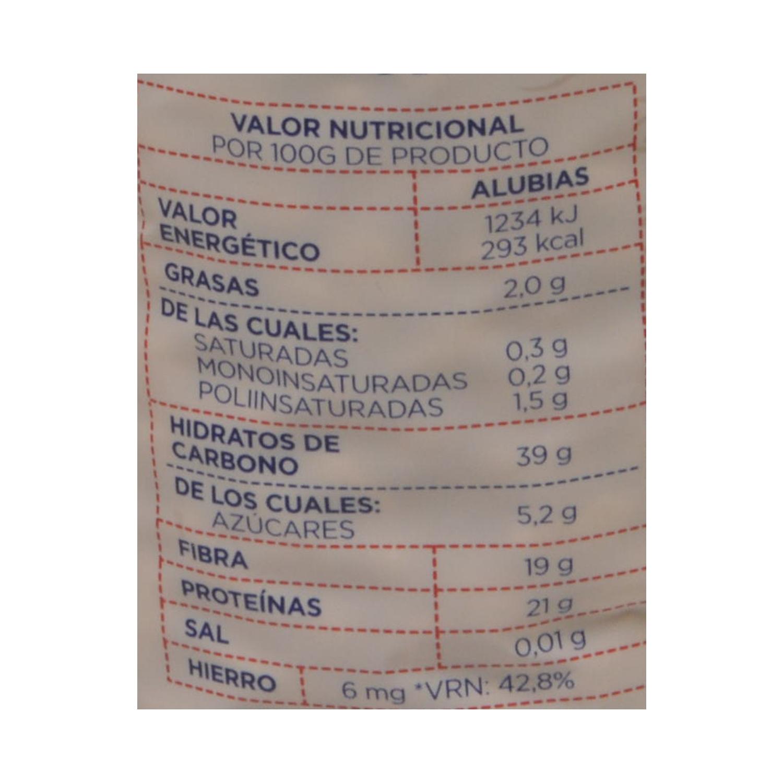 Alubia Luengo categoría extra 1 Kg. - 2