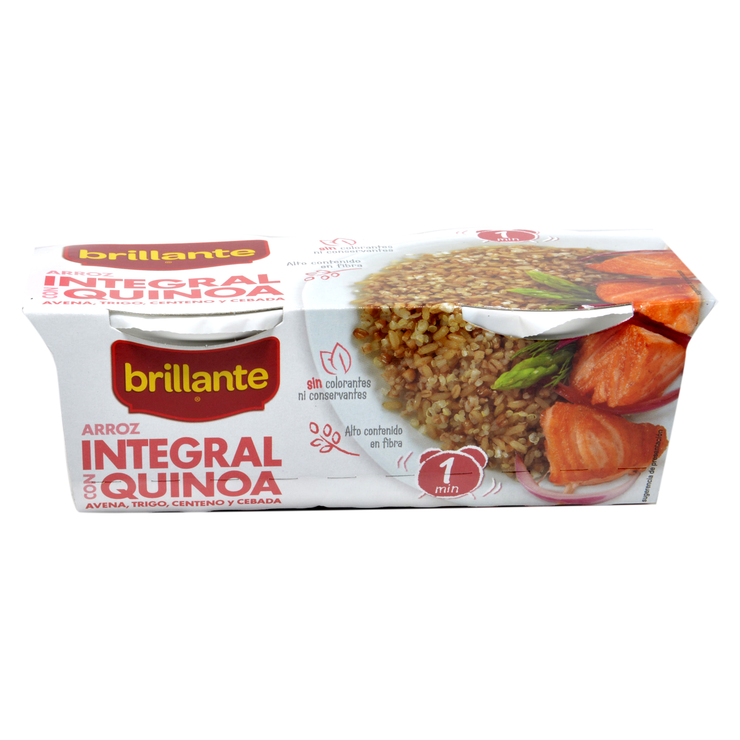 Arroz integral con soja -