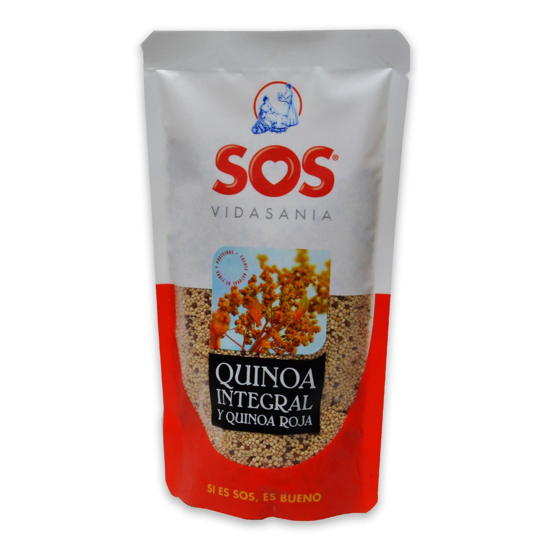 Quinoa integral y roja Sos 200 g.