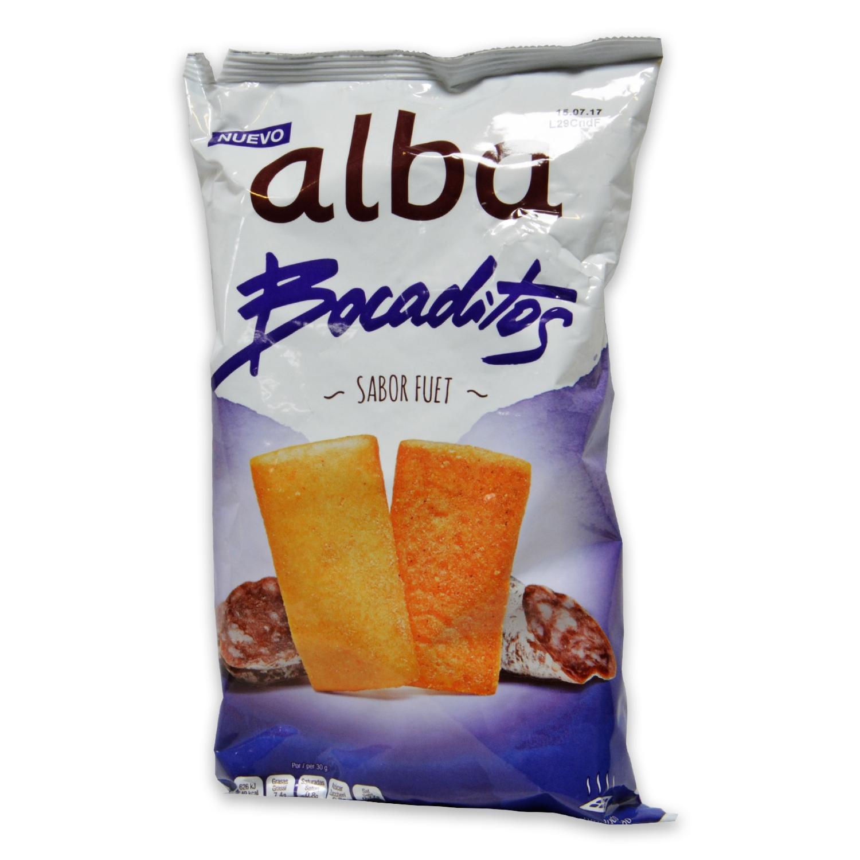 Bocaditos sabor fuet Alba 110