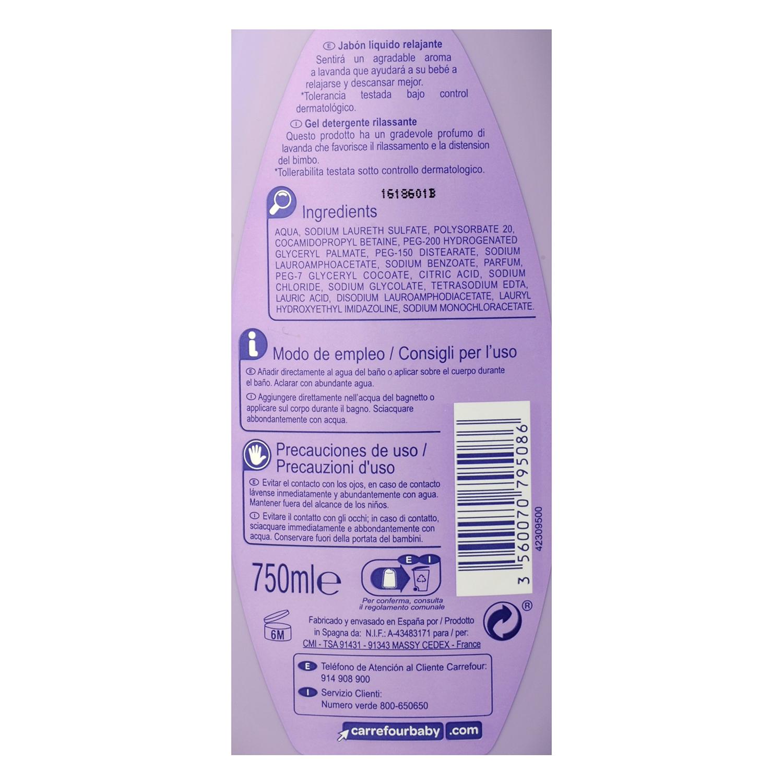 Jabón líquido Relajante -