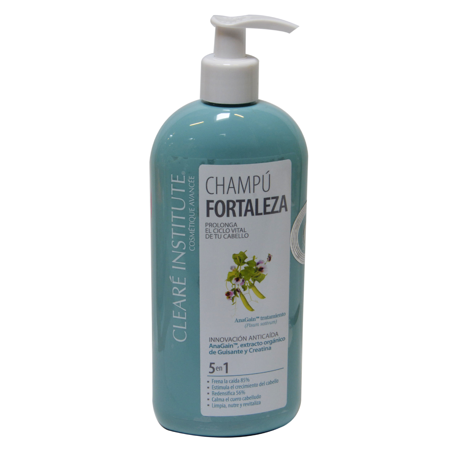 Champú anticaída Fortaleza Clearé Institute 400 ml.