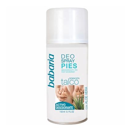 Desodorante pies Babaria 150 ml.
