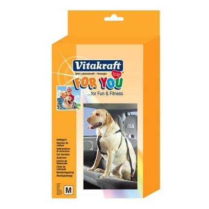 Arnés de Seguridad de Coche para Perro Vitakraft Talla M
