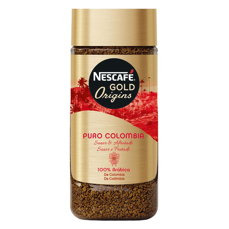 Café soluble natural Colombia Nescafé 100 g.
