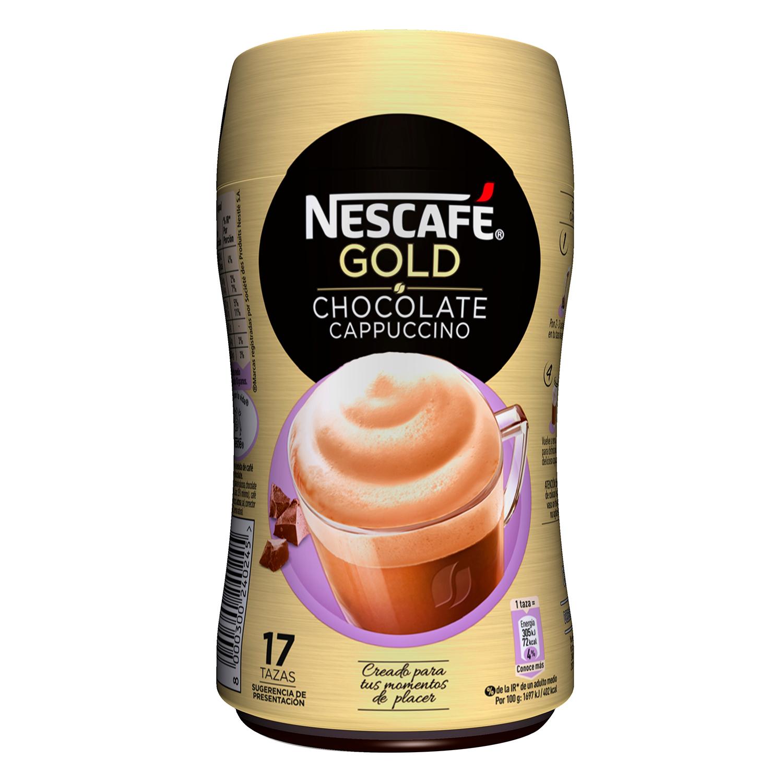 Café soluble natural vienés con chocolate