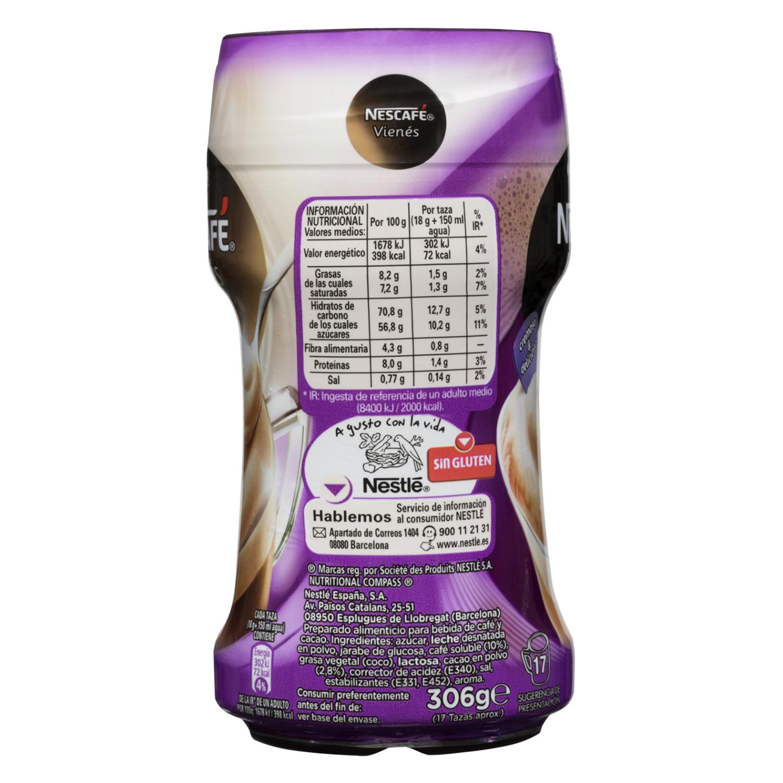 Café soluble natural vienés con chocolate - 3