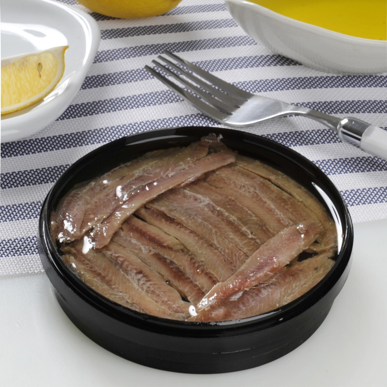 Anchoa con aceite de oliva, Salazones Gourmet 60 g