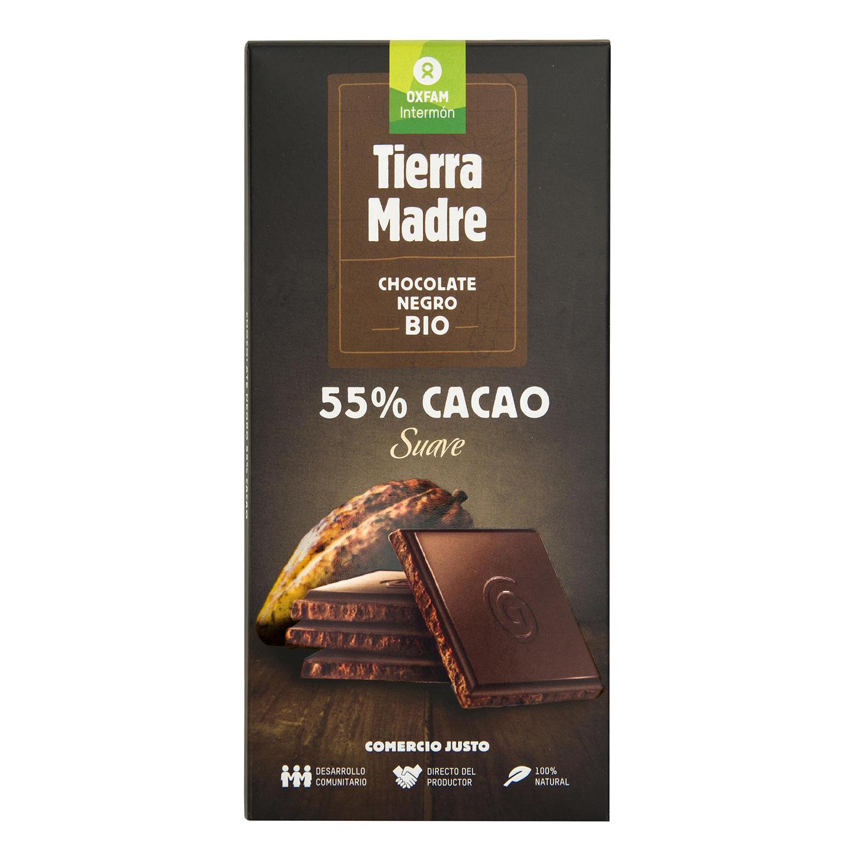 Tableta de chocolate negro 55% cacao