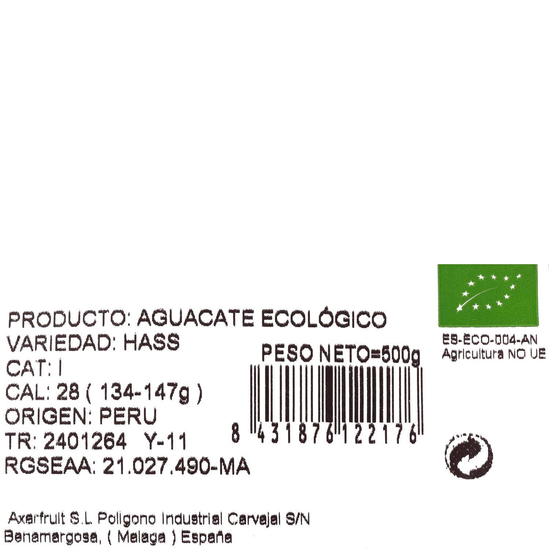 Aguacate ecológico Carrefour Bio 500 g - 3
