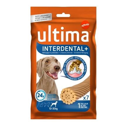 Ultima Snacks Interndental  para Perro Medium - Maxi 210 gr.