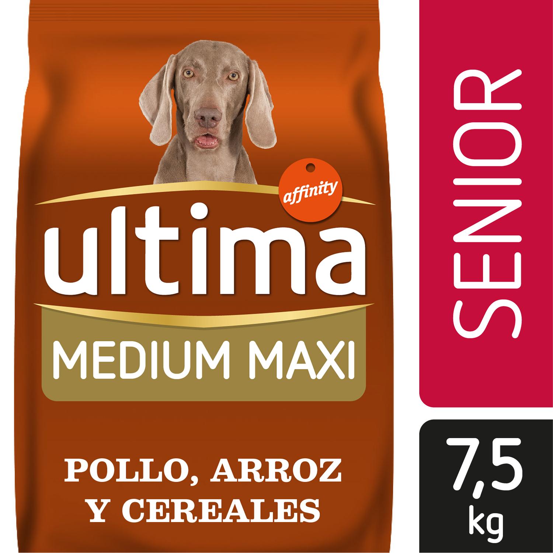 Alimento Perro Seco Ultima Medium Maxi Senior -
