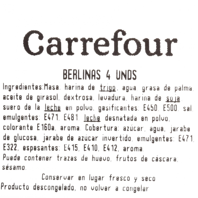 Berlinas de azúcar Carrefour 4 ud - 3