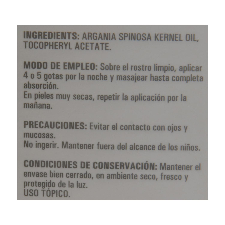 Aceite de Argán cosmética natural Sanon 30 ml. - 2